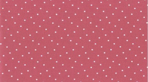187 Coral Polka Dot