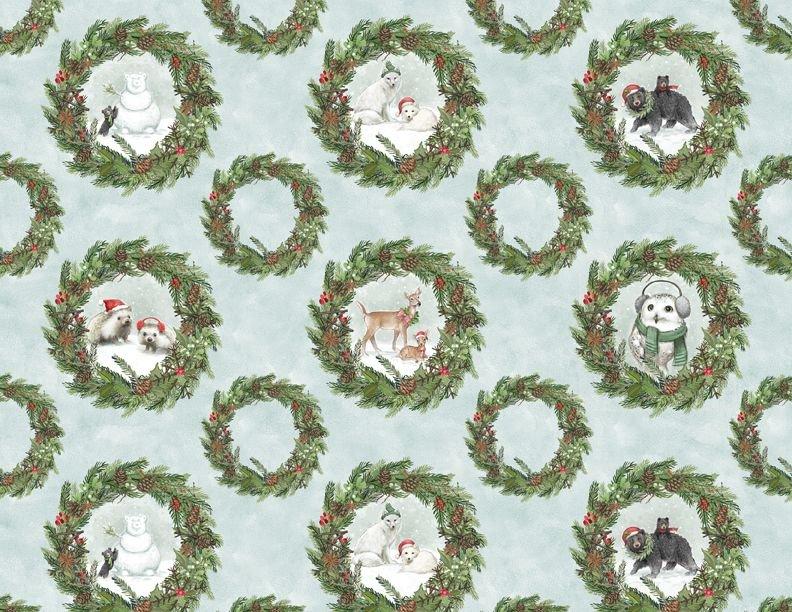 Woodland Friends 96443 471 Wreaths Multi