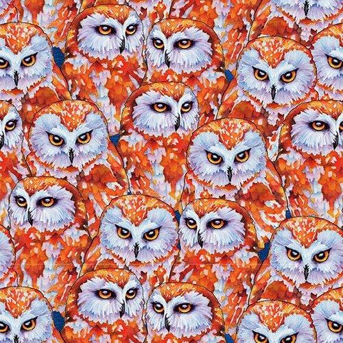 Woodland Fantasy 1310-30 Amber Owls