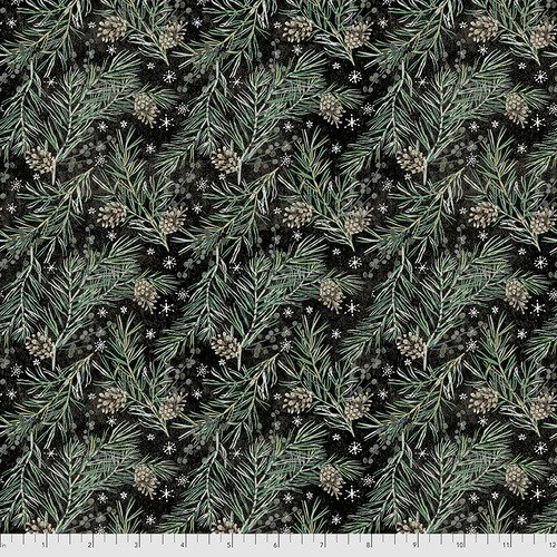 Xmastime TH169 Black Pine Boughs