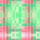 Purrfect Christmas Y2716-21 Plaid Green