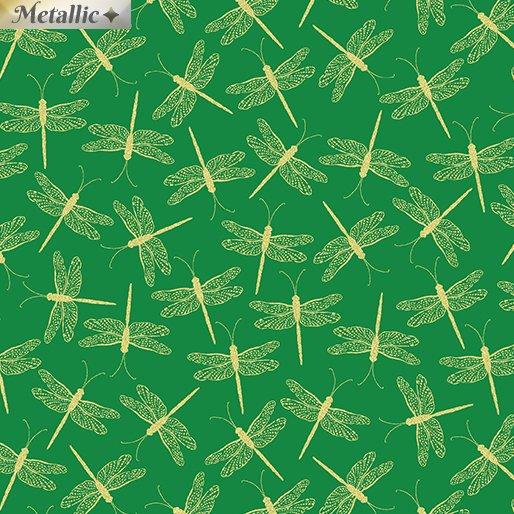 Moonlight Serenade 9757M-44 Dragonfly Emerald Green
