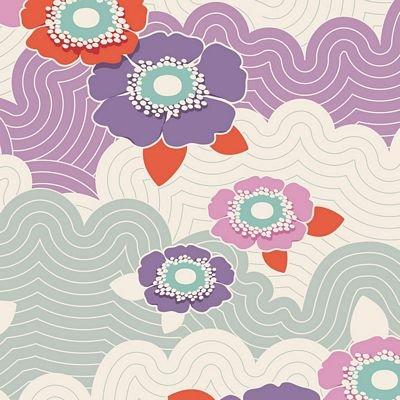 Tilda LazyDays 100168 Frances Lilac