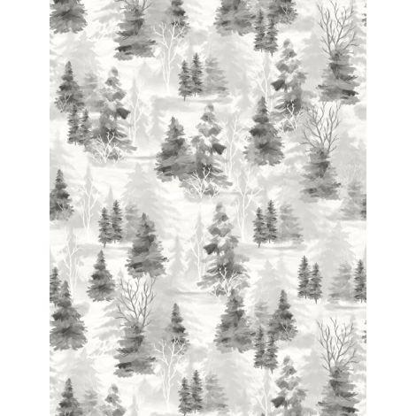 Woodland Friends 96447 919 Shadow Trees Gray