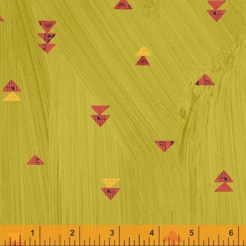 Wish Floating Triangles 51744M 5 Olive Metallic