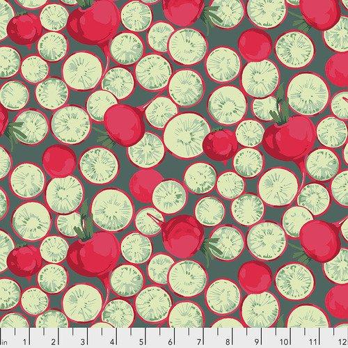 Veggies Radish Coin PWMN005 Dark