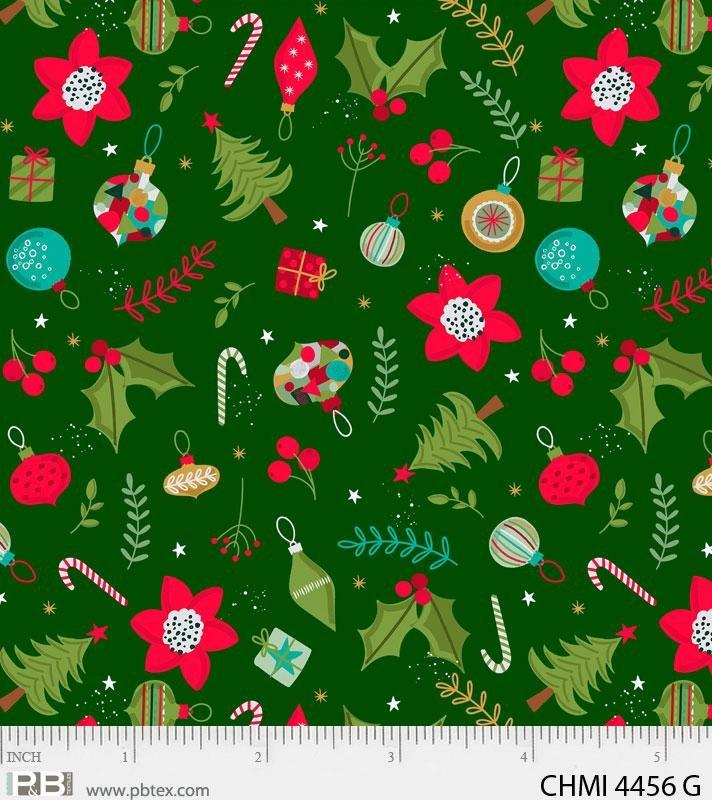 Xmas Minis Wonderful 4456 Green