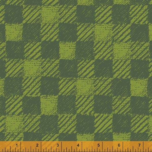 Merry & Mod 52543D Plaid Blanket Forest