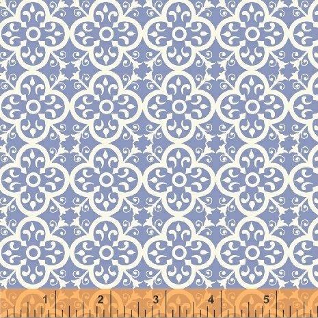 Bungalow 51471-7 Periwinkle Vintage Tile