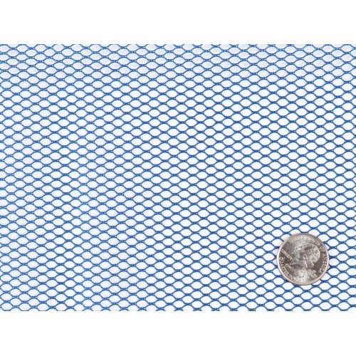 Mesh Fabric 18x54 Blast-off Blue