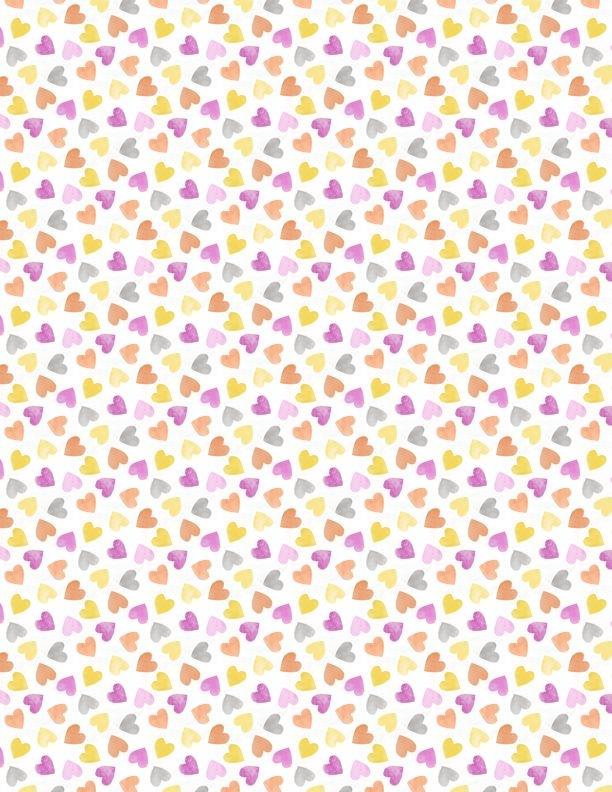 Raindrops & Sunshine 68554-195 Hearts Pink