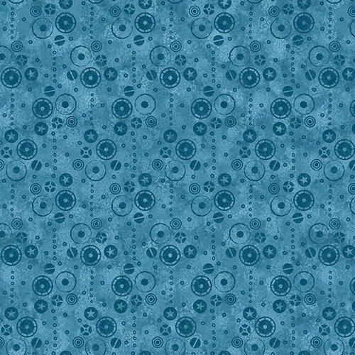 Dino Punk Blocks B1261-70 Blue
