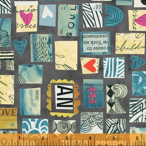 Wish Postage Stamp 51742 2 Midnight
