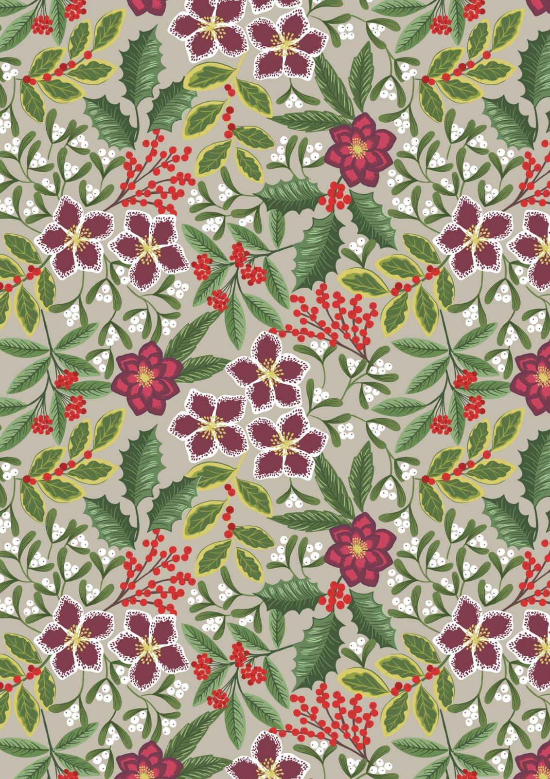 Noel C68.1 Floral on Linen