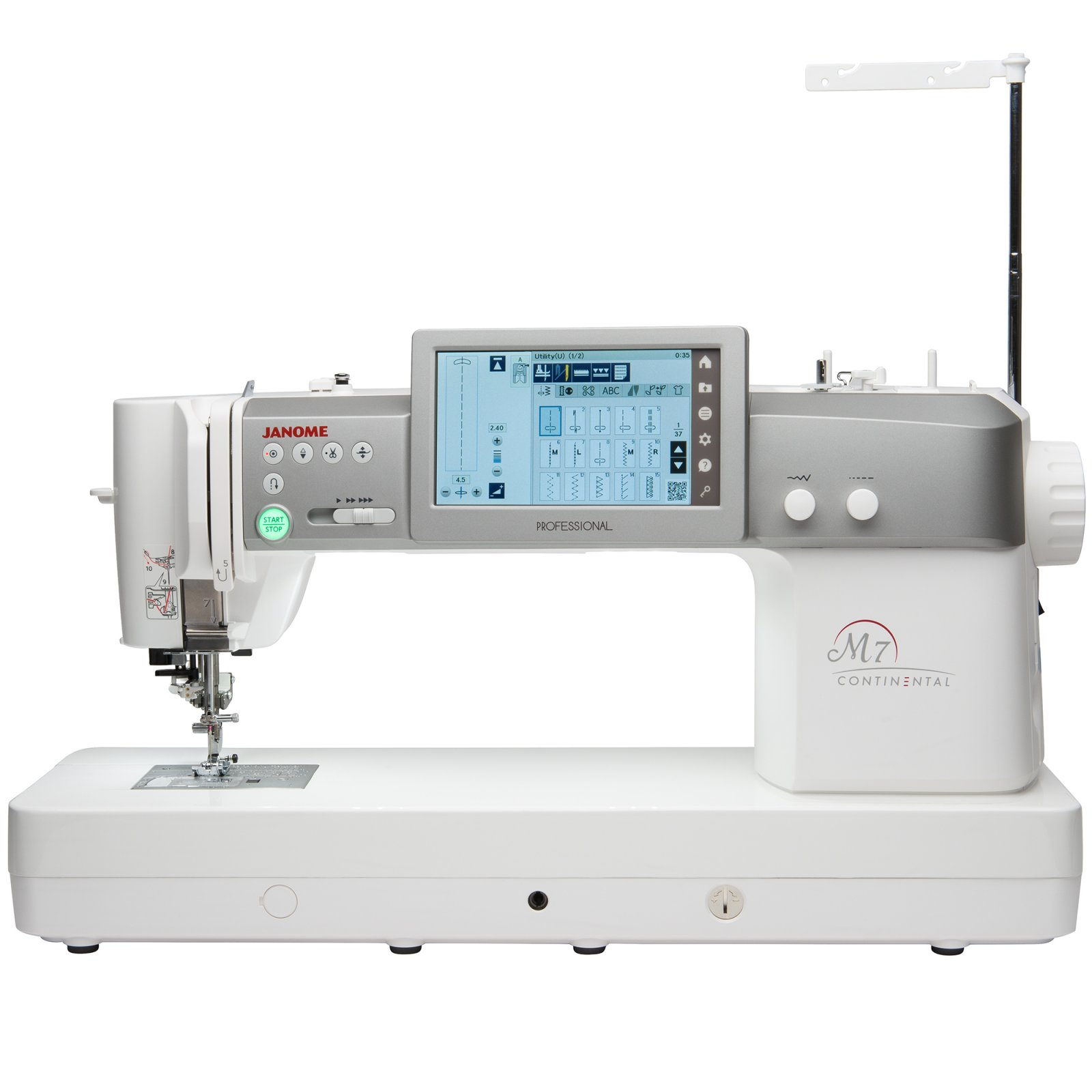 Janome Cloth Guide Seam Gauge Top Load Machine