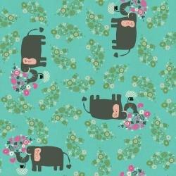 Kawaii Nakama NM102-TU2U I Heart Elephants Turquoise