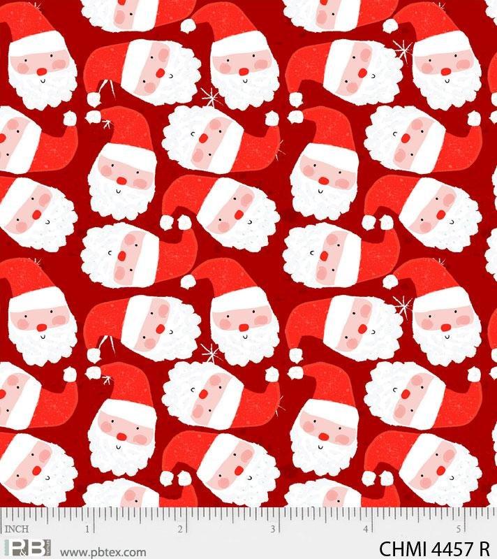 Xmas Minis Joyful 4457 Red
