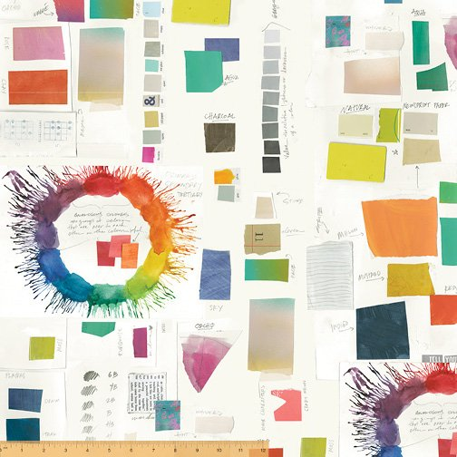 Color Theory 52385D-1 Paper Color Therapy