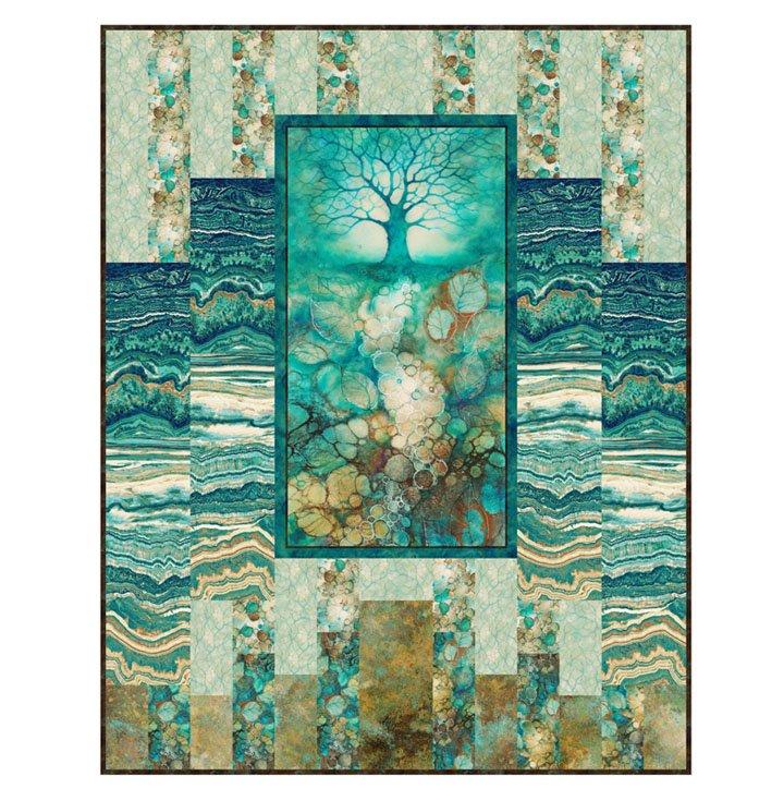 Tree/Wisdom Quilt Kit with Pattern