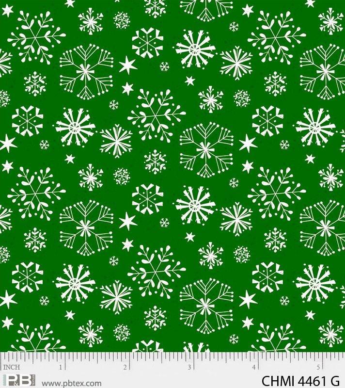 Xmas Minis Home 4461 Green