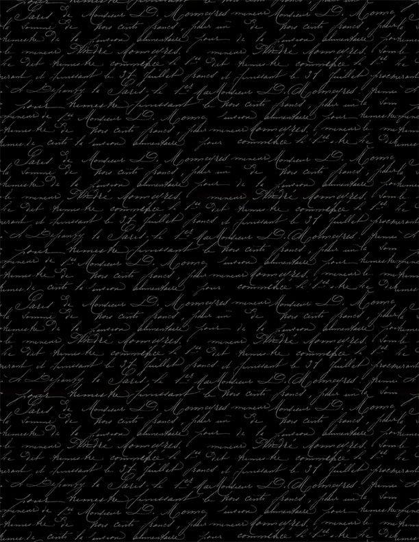 Festive Forest Script 68480 999 Black