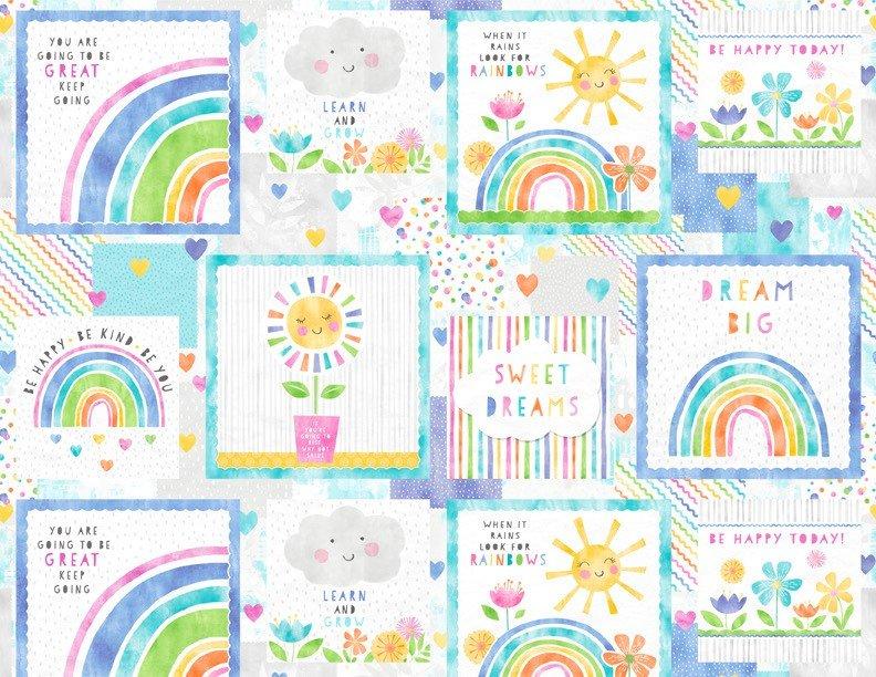 Raindrops & Sunshine 68548-145 Craft Panel Multi