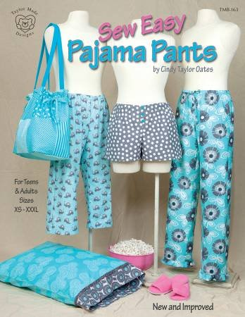Sew Easy Pajama Pants - Softcover