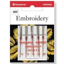 Husqvarna Viking Embroidery Needle Assortment