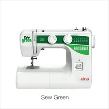 Elna Sew Green Sewing Machine