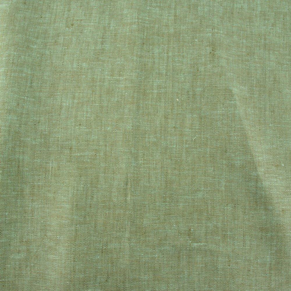 Organic Yarn Dyed Linen, Lake, Birch Fabrics