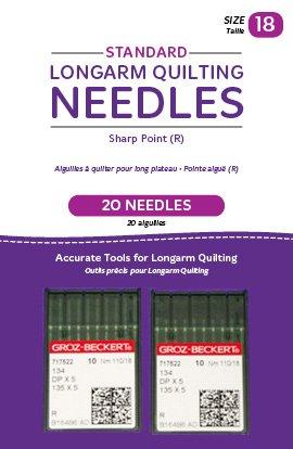 HQ 18 Standard Needles 2pk