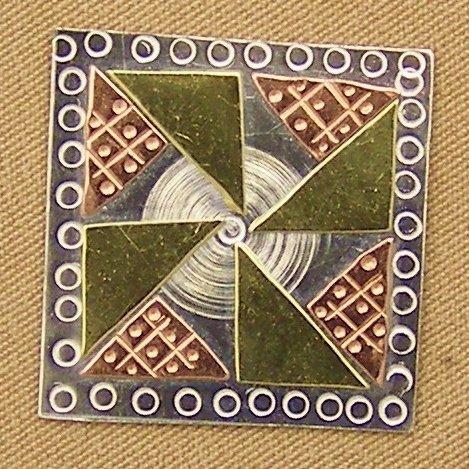 Needle Nanny Pinwheel Quilt Block
