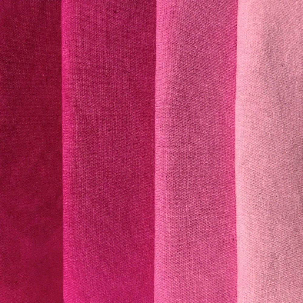 Pink Medley 4 Step Fat Quarter Bundle