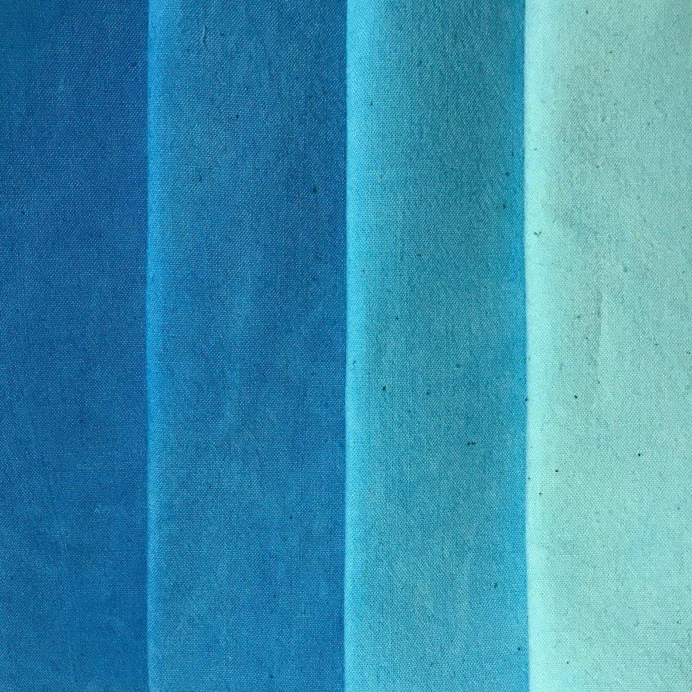 Turquoise Medley 4 Step Fat Quarter Bundle