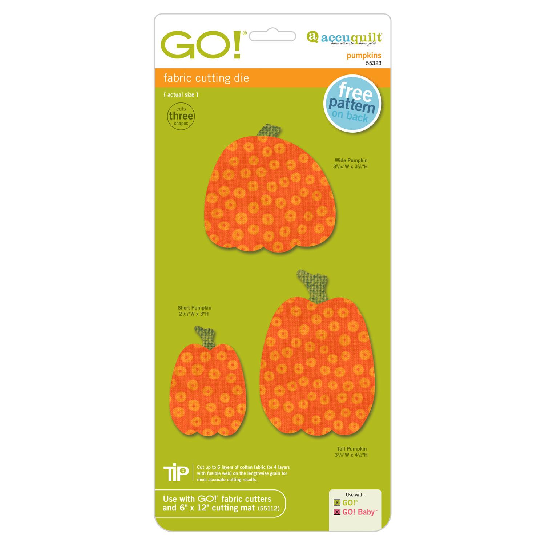 AccuQuilt GO! Pumpkins