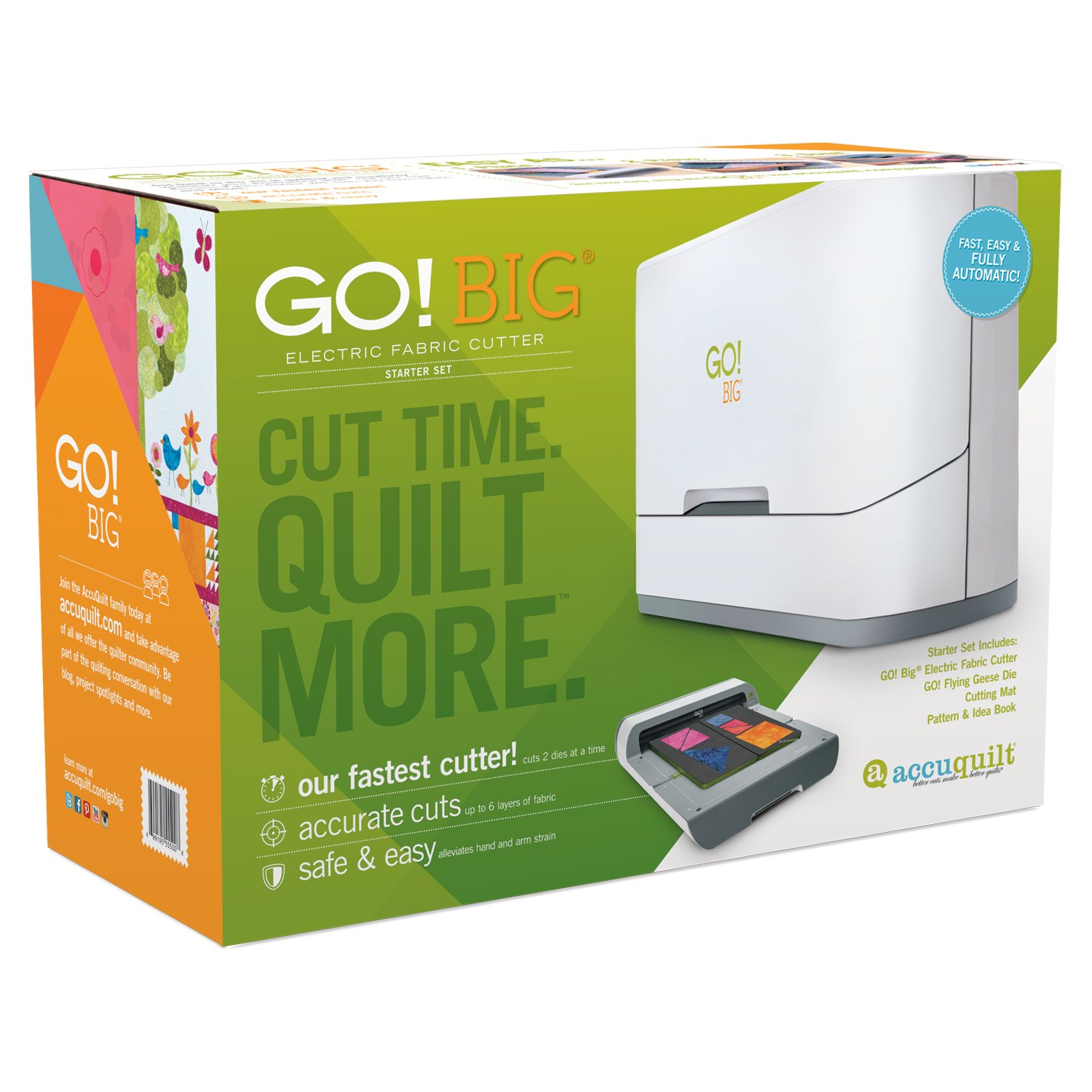 AccuQuilt GO! Big Electric Cutter Starter Set