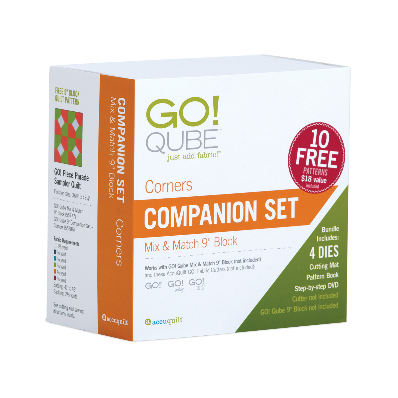 AccuQuilt GO! Qube 9 Companion Set Corners