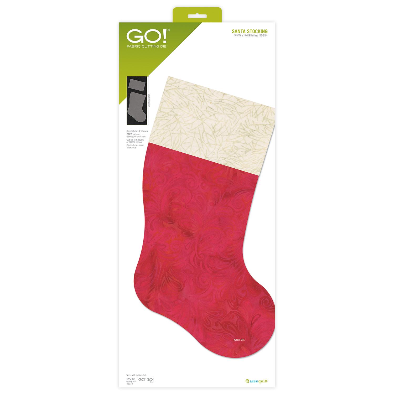 AccuQuilt GO! Santa Stocking Die
