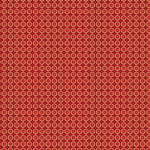 Mini Floral Foulard Red 8803M-10