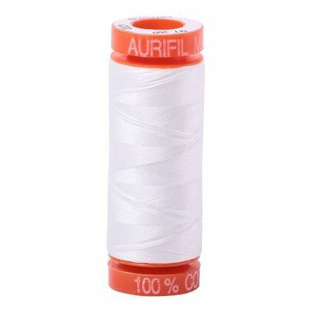 Aurifil Mako 50wt 200m Natural White