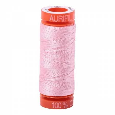 Aurifil Mako 50wt 200m Baby Pink