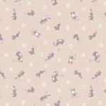 A529.1 Bunny Hop Chicks on Dark Cream