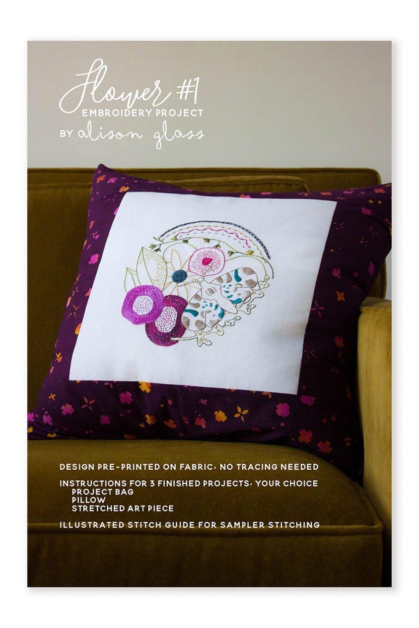 Alison Glass Flower #1