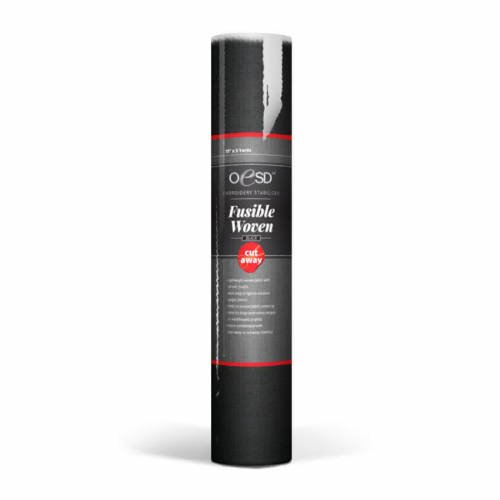 OESD Fusible Woven Black 15 x 5 yd