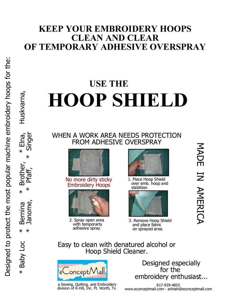 Hoop Shield Bernina Large Oval