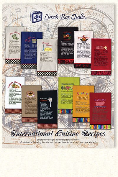 LBQ International Cuisine Recipes