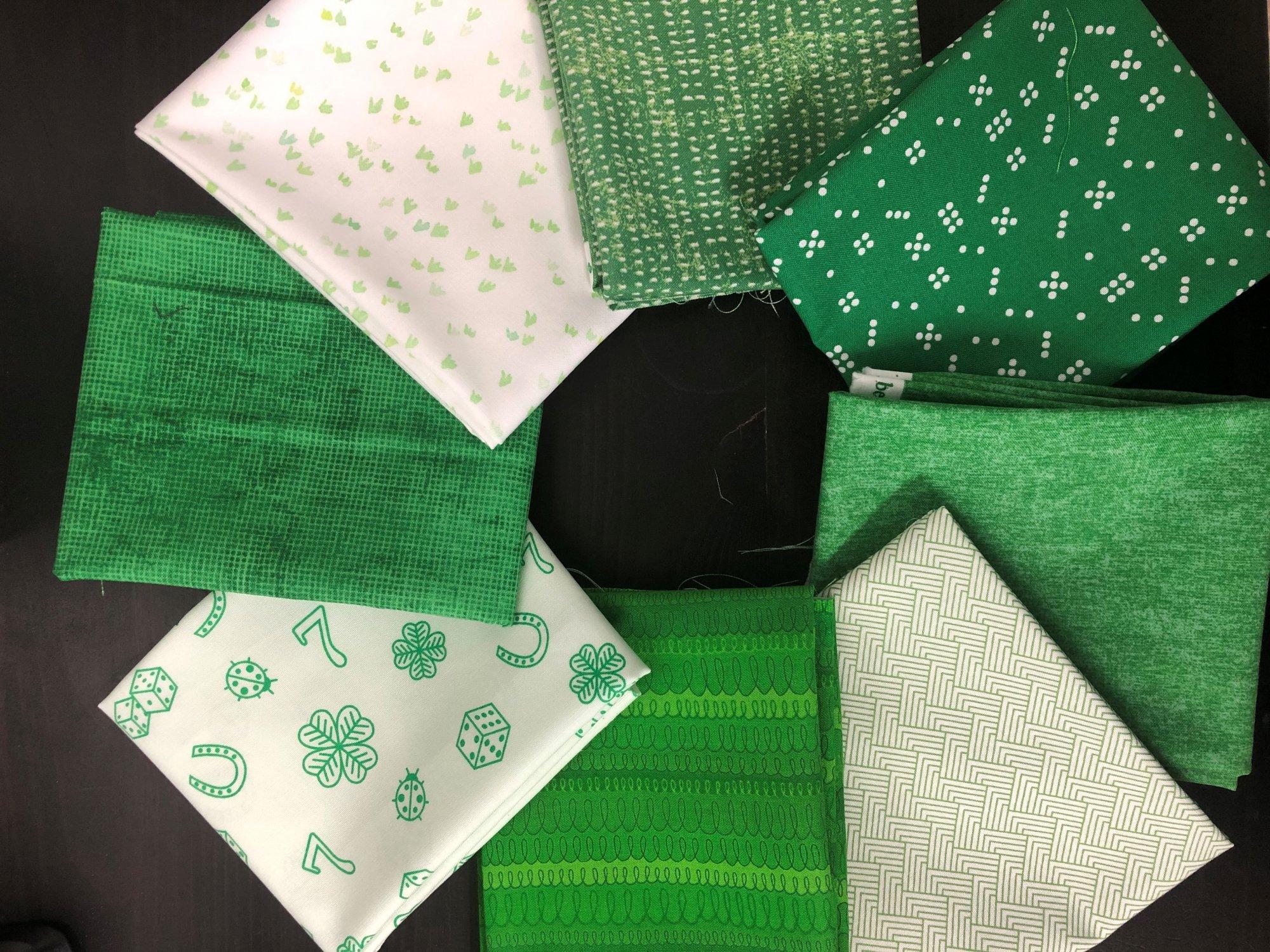 Luck O the Irish FQ Bundle - 8 FQs