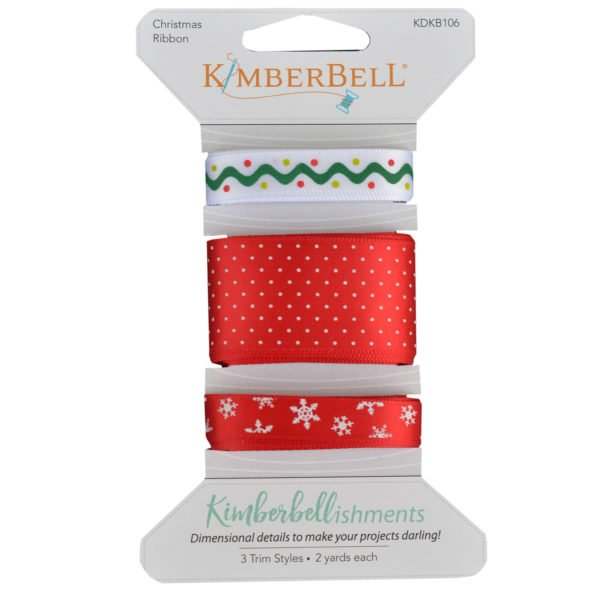 Kimberbellishments Christmas Ribbon Set