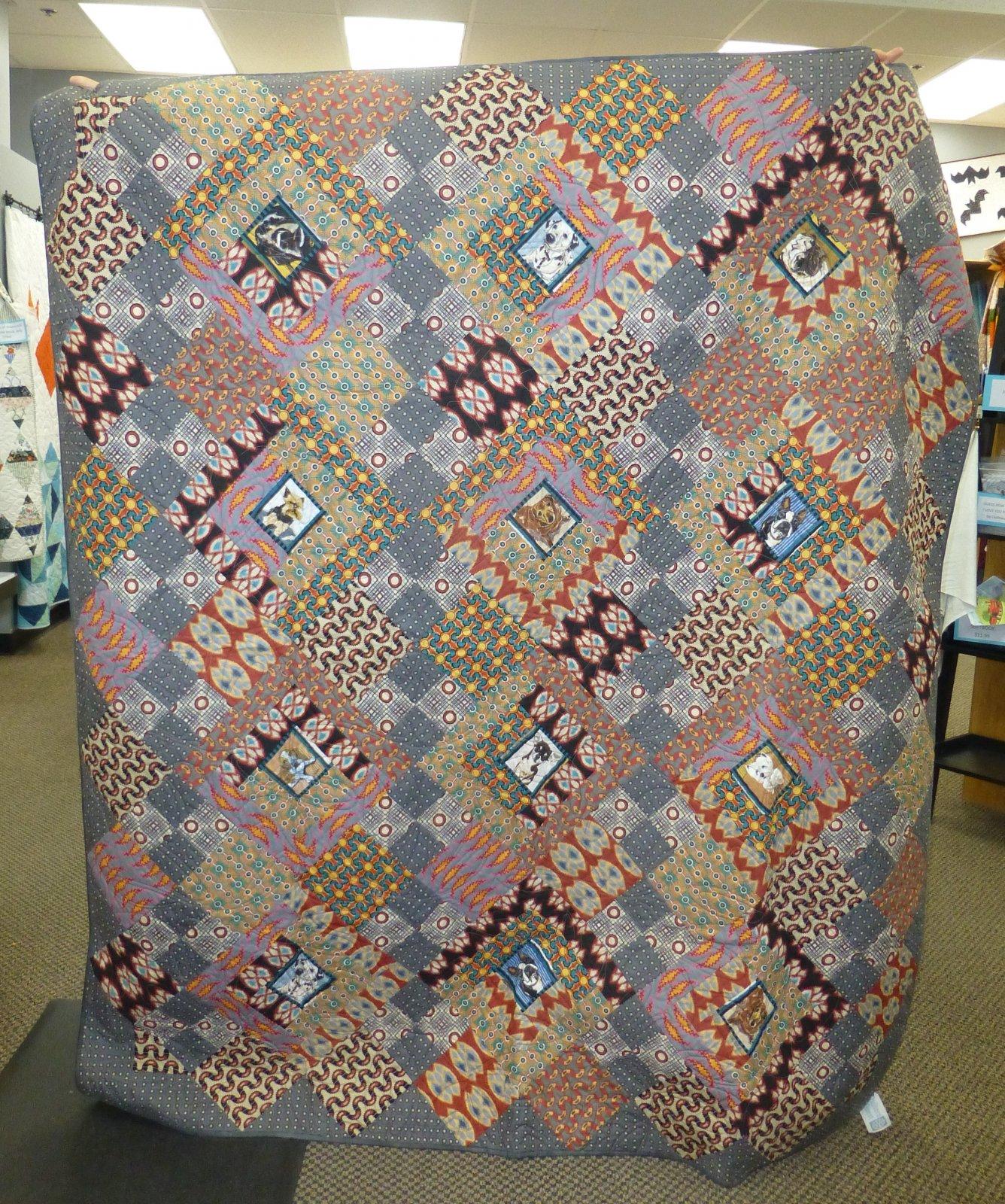 Dog Lover Quilt 64 x 73