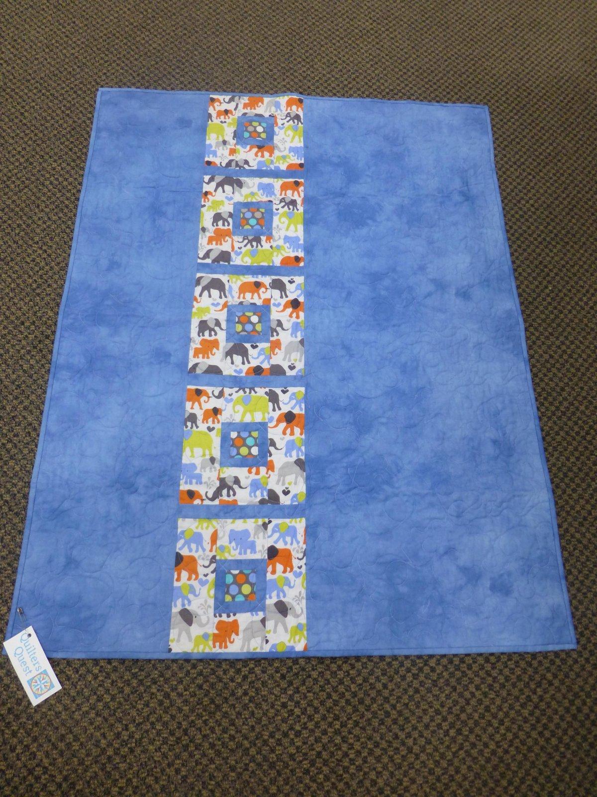 Posh Tot Sample Elephants 38 x 47